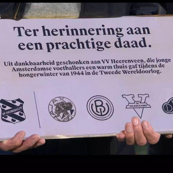 Amsterdam bedankt sc Heerenveen